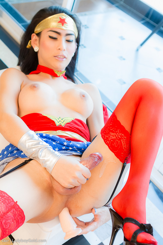 Were visited tranny wonder woman